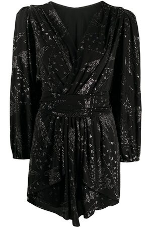 Isabel Marant Metallic-detail mini dress