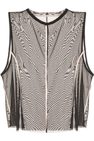 Kiki de Montparnasse Women Tank Tops - Muscle mesh tank top