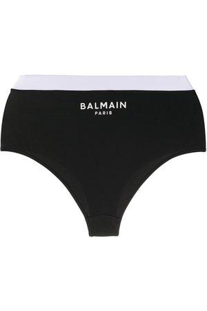 Balmain Small logo print briefs