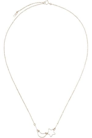 Petite Grand Women Necklaces - Moon & Star chain necklace