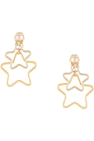 Petite Grand Women Earrings - Double star earrings