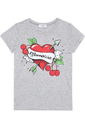Monnalisa Stretch-cotton T-shirt