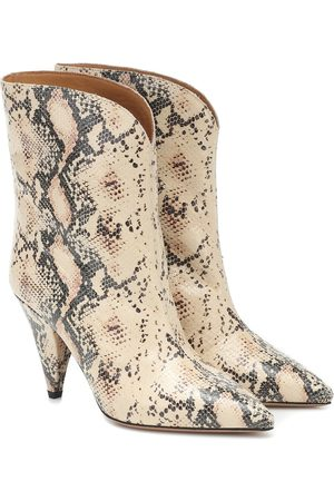 Isabel Marant Leinee leather ankle boots
