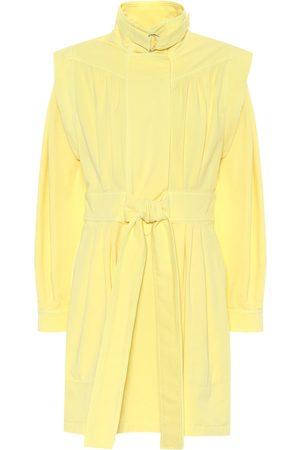 Stella McCartney Stretch-cotton twill minidress