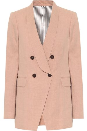 Brunello Cucinelli Linen and cotton blazer