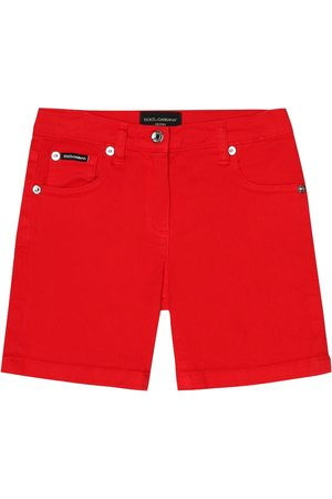 Dolce & Gabbana Stretch-cotton shorts
