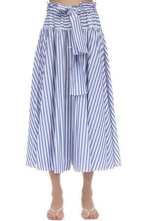 MARYAM NASSIR ZADEH Carlita Cotton Poplin Skirt