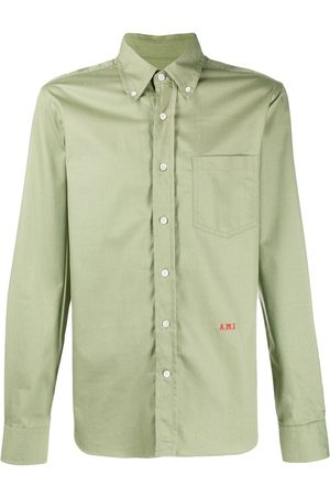 Ami A.M.I embroidered shirt