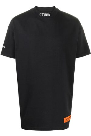 Heron Preston Embroidered roll neck T-shirt