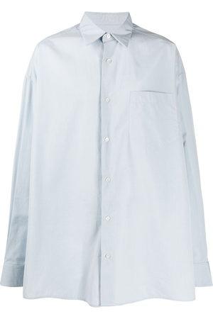 Ami Men Casual - Side slits oversized shirt