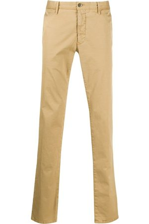 Incotex Straight-leg chino trousers - Neutrals