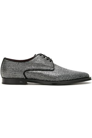 Dolce & Gabbana Millennials metallic Derby shoes