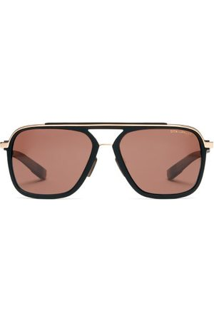 DITA EYEWEAR Lsa-130 Round Metal Sunglasses - Mens