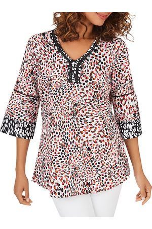 Foxcroft Wrinkle-Free Cotton Sateen Tunic