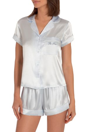 Jonquil Women Nightdresses & Shirts - Women's The Mrs Satin Short Pajamas