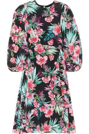Les Rêveries Exclusive to Mytheresa – Floral silk minidress