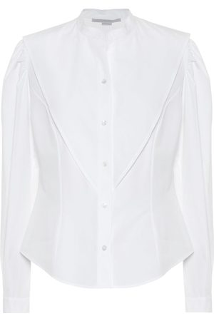 Stella McCartney Women Shirts - Cotton-poplin shirt