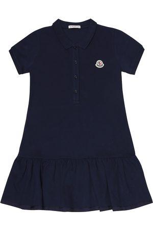 Moncler Stretch-cotton polo dress