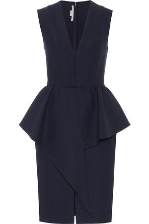 Stella McCartney Women Midi Dresses - Stretch wool-blend dress