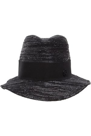 MAISON MICHEL Bobbie Cotton, Bamboo & Lurex Hat