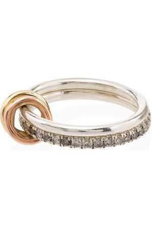Spinelli Kilcollin 18kt & diamond marigold ring - ROSE