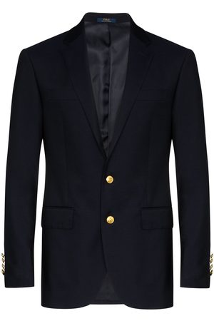 Polo Ralph Lauren Single-breasted twill blazer