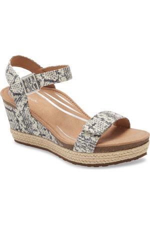 Aetrex Women's Sydney Espadrille Wedge Sandal