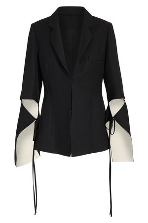 Loewe Tie Cut Jacket with sleeves