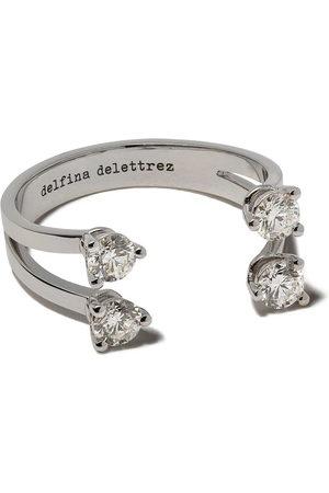 DELFINA DELETTREZ Rings - Dots diamond ring - /