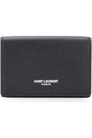 Saint Laurent Men Wallets - Grained card case