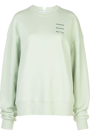 PROENZA SCHOULER WHITE LABEL Logo detail sweatshirt