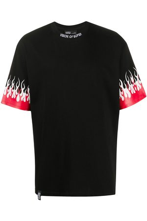 Vision Of Super Flame print T-shirt