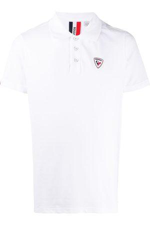 Rossignol Logo tab cotton polo shirt