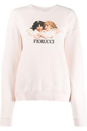 Fiorucci Women Sweatshirts - Vintage Angels sweatshirt