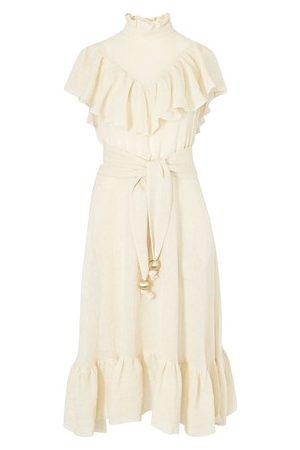Lisa Marie Fernandez Women Maxi Dresses - Antonina linen maxi dress