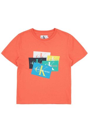 Calvin Klein Boys T-shirts - Monogram Patch Oco