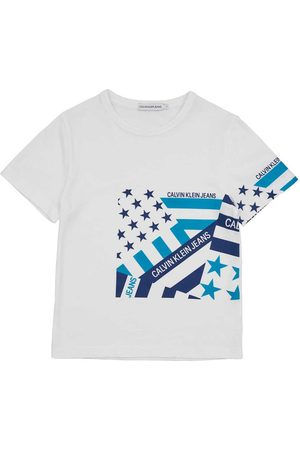 Calvin Klein Flag Print Oco
