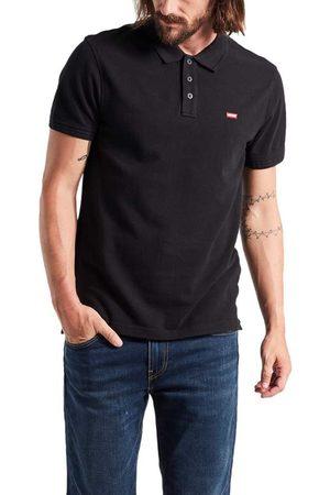 Levi's Housemark Short Sleeve Polo Shirt S Mineral