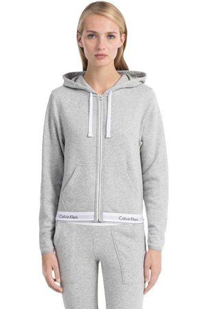 Calvin Klein Modern Cotton Top Hoodie Full Zip