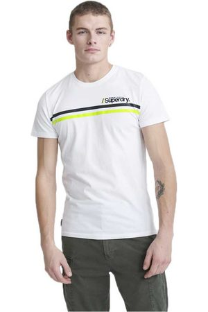 Superdry Men T-shirts - Core Logo Sport Stripe