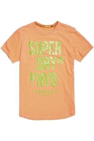 Superdry Surplus Goods Longline Graphic