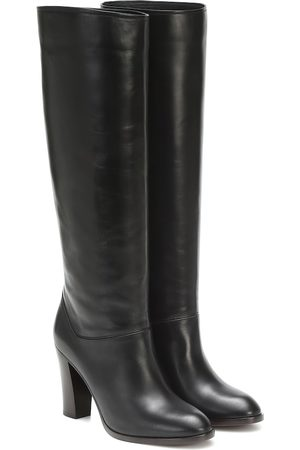 Loro Piana Women Thigh High Boots - Debbie 90 knee-high leather boots