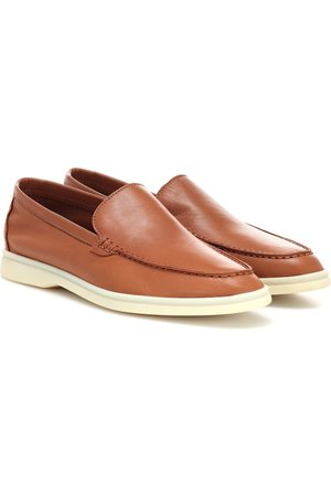 Loro Piana Summer Charms Walk leather loafers