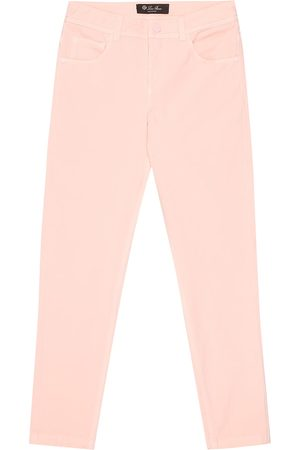 Loro Piana Girls Skinny - Mathias stretch-cotton skinny jeans