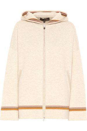Loro Piana The Suitcase Stripe Bomber hoodie
