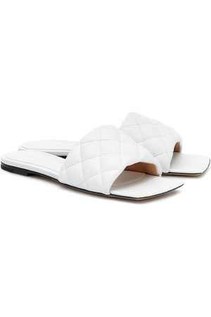 Bottega Veneta Padded leather slides