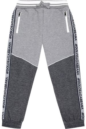 Dolce & Gabbana Logo cotton-blend trackpants