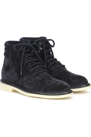 Loro Piana Icer Walk suede ankle boots
