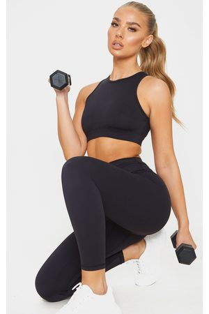 PRETTYLITTLETHING Sculpt Luxe Cropped Gym Legging