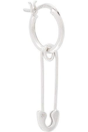 TRUE ROCKS Men Hoop - Safety pin hoop earring